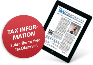 Subscribe to your TaxObserver now